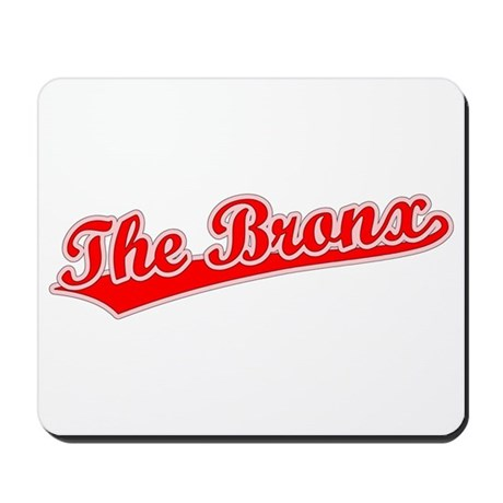 Retro The Bronx (Red) Mousepad