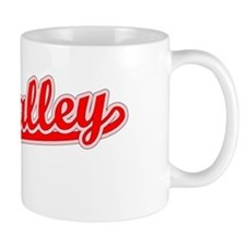 Retro The Valley (Red) Mug