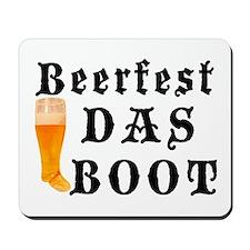 BeerFest Das Boot Mousepad