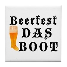 BeerFest Das Boot Tile Coaster