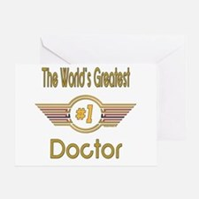Number 1 Doctor Greeting Card