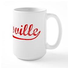 Vintage Gloversville (Red) Mug