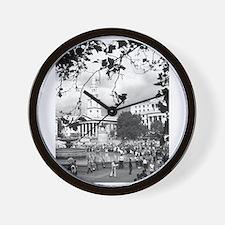 Cute London square Wall Clock