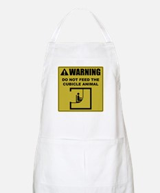 Do Not Feed The Cubicle Animal BBQ Apron