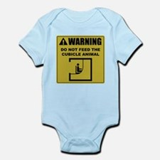 Do Not Feed The Cubicle Animal Infant Bodysuit