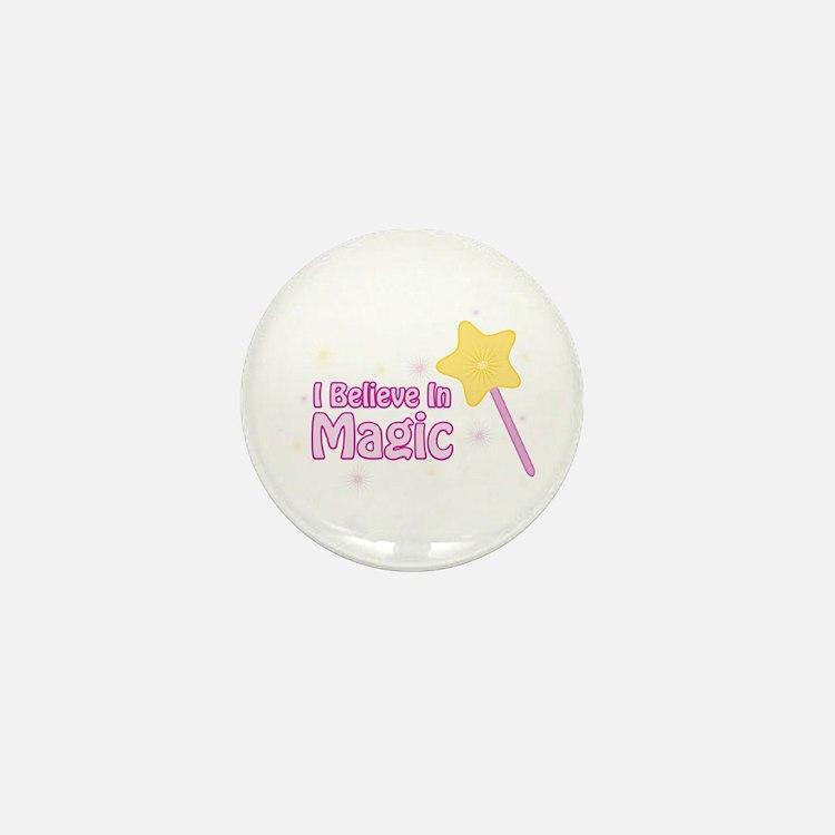 I Believe In Magic Mini Button