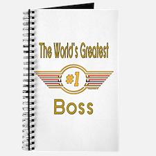 Number 1 Boss Journal