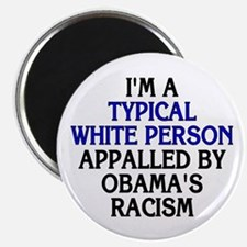 """Typical white person (2.25"""" magnet)"""