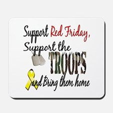 Support Red Friday Support Tr Mousepad