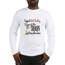 Support Red Friday Support Tr Long Sleeve T-Shirt