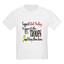 Support Red Friday Support Tr T-Shirt