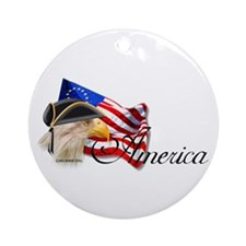 America 1 Ornament (Round)