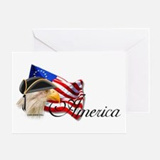 America 1 Greeting Card