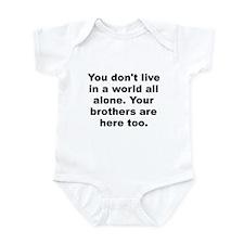 You alone Infant Bodysuit