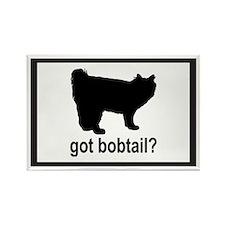 Got Bobtail? Rectangle Magnet