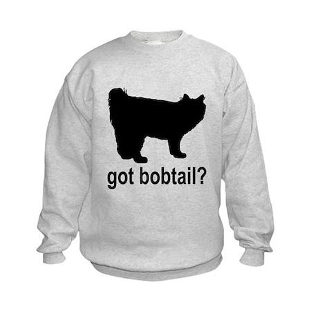 Got Bobtail? Kids Sweatshirt