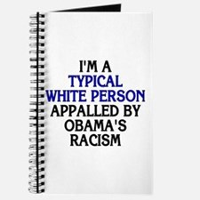 Typical white person (unlined journal)