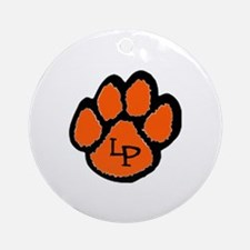 LP Pawprint Ornament (Round)