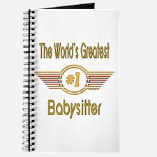 Number 1 Babysitter Journal