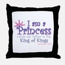 I am a Princess Throw Pillow