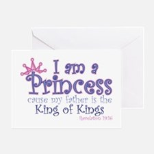 I am a Princess Greeting Card