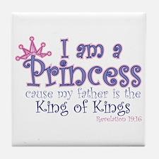 I am a Princess Tile Coaster