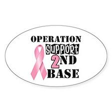 Operation 2nd Base Oval Sticker (10 pk)