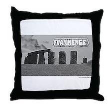 Foamhenge Throw Pillow