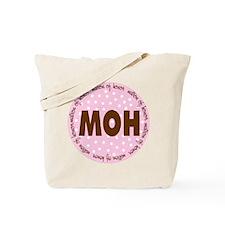 Polka Dot Matron of Honor Tote Bag