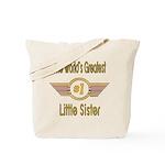 Number 1 Little Sister Tote Bag
