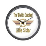 Number 1 Little Sister Wall Clock