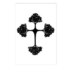 Cross Trees Postcards (Package of 8)