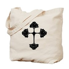 Cross Trees Tote Bag