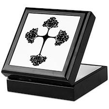 Cross Trees Keepsake Box