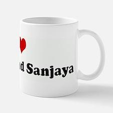 I Love Santino and Sanjaya Mug