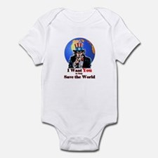 Save The World Infant Bodysuit