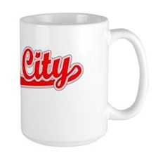 Retro Union City (Red) Mug