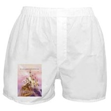 Unique Dragon on castle Boxer Shorts