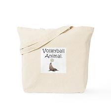 Volleyball Animal Tote Bag