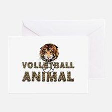 Volleyball Animal Greeting Cards (Pk of 10)