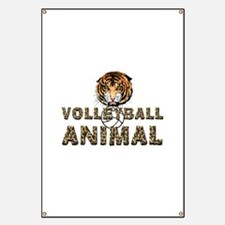Volleyball Animal Banner