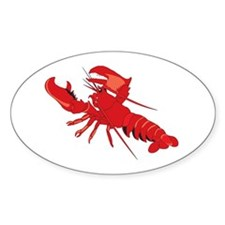 Lobster Oval Decal