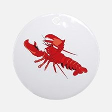 Lobster Ornament (Round)