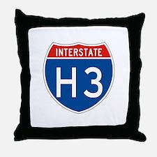Interstate H3, USA Throw Pillow