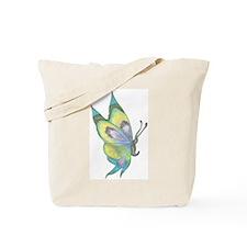 Dark Queen Butterfly Tote Bag