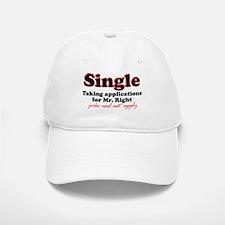 Single jerks not apply Baseball Baseball Cap