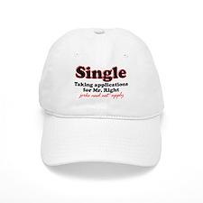 Single jerks not apply Baseball Cap