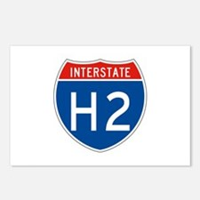Interstate H2, USA Postcards (Package of 8)
