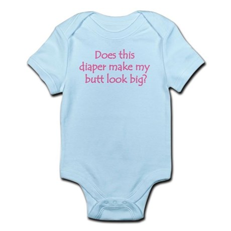 Diaper Butt Infant Bodysuit