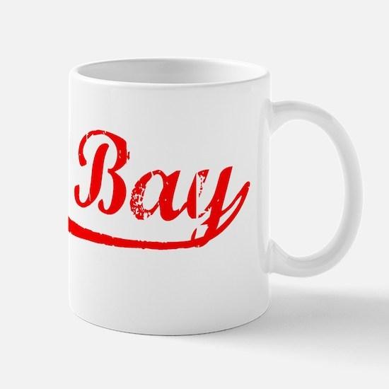 Vintage Green Bay (Red) Mug